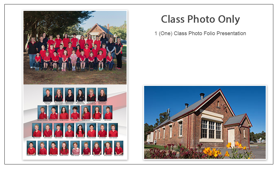 Group School Photo Package