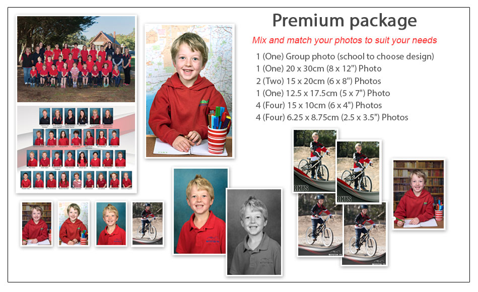 Premium School Photo Package